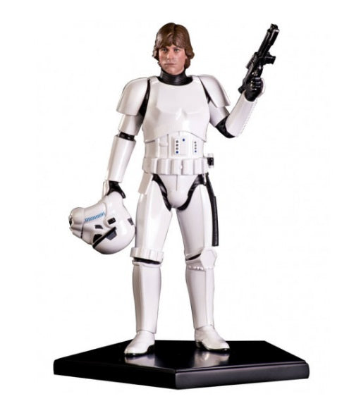 Star Wars Art Scale 1/10 Luke Skywalker Stormtrooper Disguise - Iron Studios