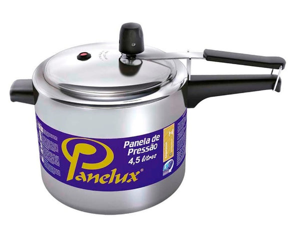 Brazilian Orignal Panex Classic Polished 4,5 Liter Pressure Cooker Pan - Panelux