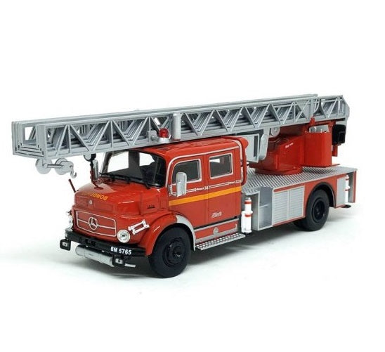 Brazilian Original IXO Firefighters Mercedes Benz L1519 Classic Truck Collection