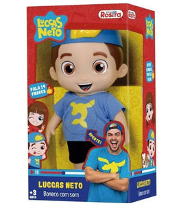 Brazilian Original Youtuber Luccas Neto Kids Talking Toy Doll Rositas 14 Phrases