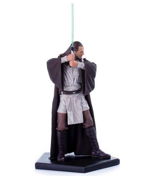 Original Art Scale 1/10 Star Wars Qui-Gon Jinn Miniature Figure - Iron Studios