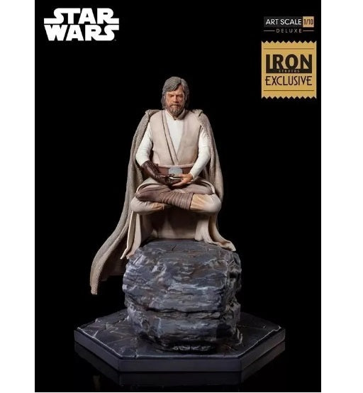 Original Star Wars Luke Skywalker CCXP 2018 Art Scale 1/10 Figure - Iron Studios