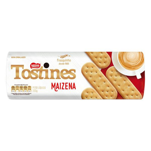 Lot of 10 Packs 200g Biscuit Cracker Biscoito NESTLÉ Tostines Maizena