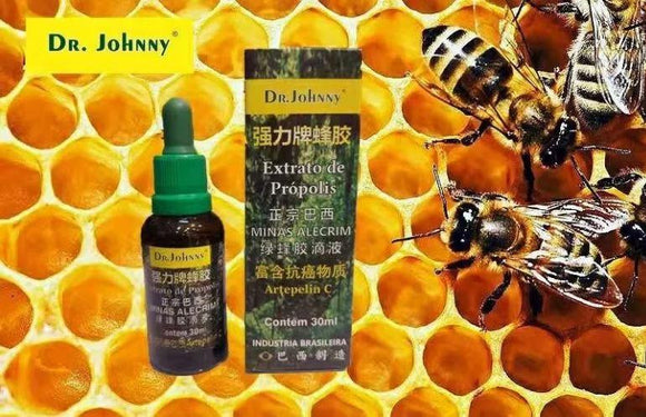 Brazilian Bee Green Rosemary Extract of Propolis 30ml - Dr. Johnny