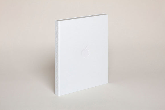 Designed by Apple in California by Jony Ive and Andrew Zuckerman - 260x324 mm / 10.2 x 12.4 in