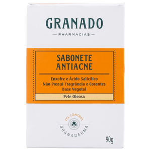 Granado Granaderma - Soap in Bar 90g for Acne