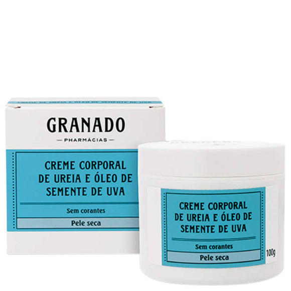 Granado Granaderma Urea and Grape Seed Oil - Moisturizing Body 100g