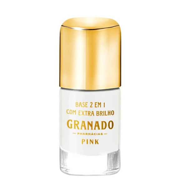 Granado Pink 2 in 1 Extra Brightness - Colorless Base Nail 10ml