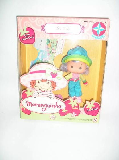 Brazilian Original Iris Bela Doll Classic Kids Toy Estrela Moranguinho Play