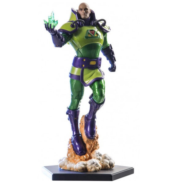 Original Iron Studios Lex Luthor 1/10 Miniature Ivan Reis Exclusive Collection