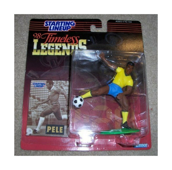 PELE SOCCER PLAYER KENNER 1997 Timeless Legends Brazil