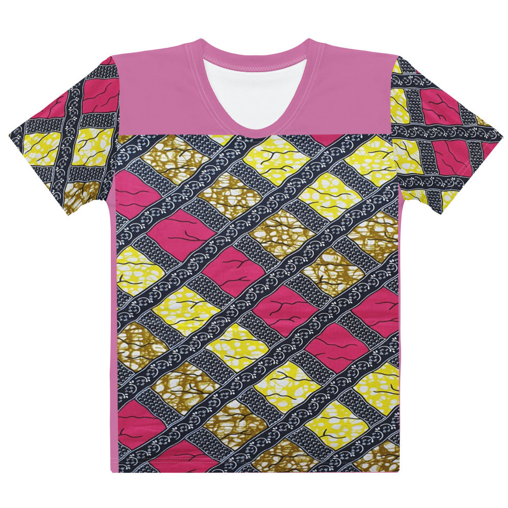 African Ankara Prints Women's T-shirt