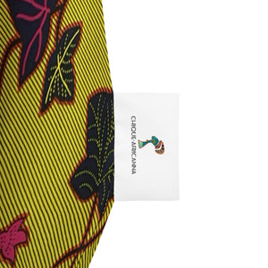 Ankara Patterned Bean Bag Chair Cover