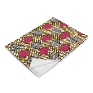 Ankara Prints Patterned Throw Blanket (Home Accessories)