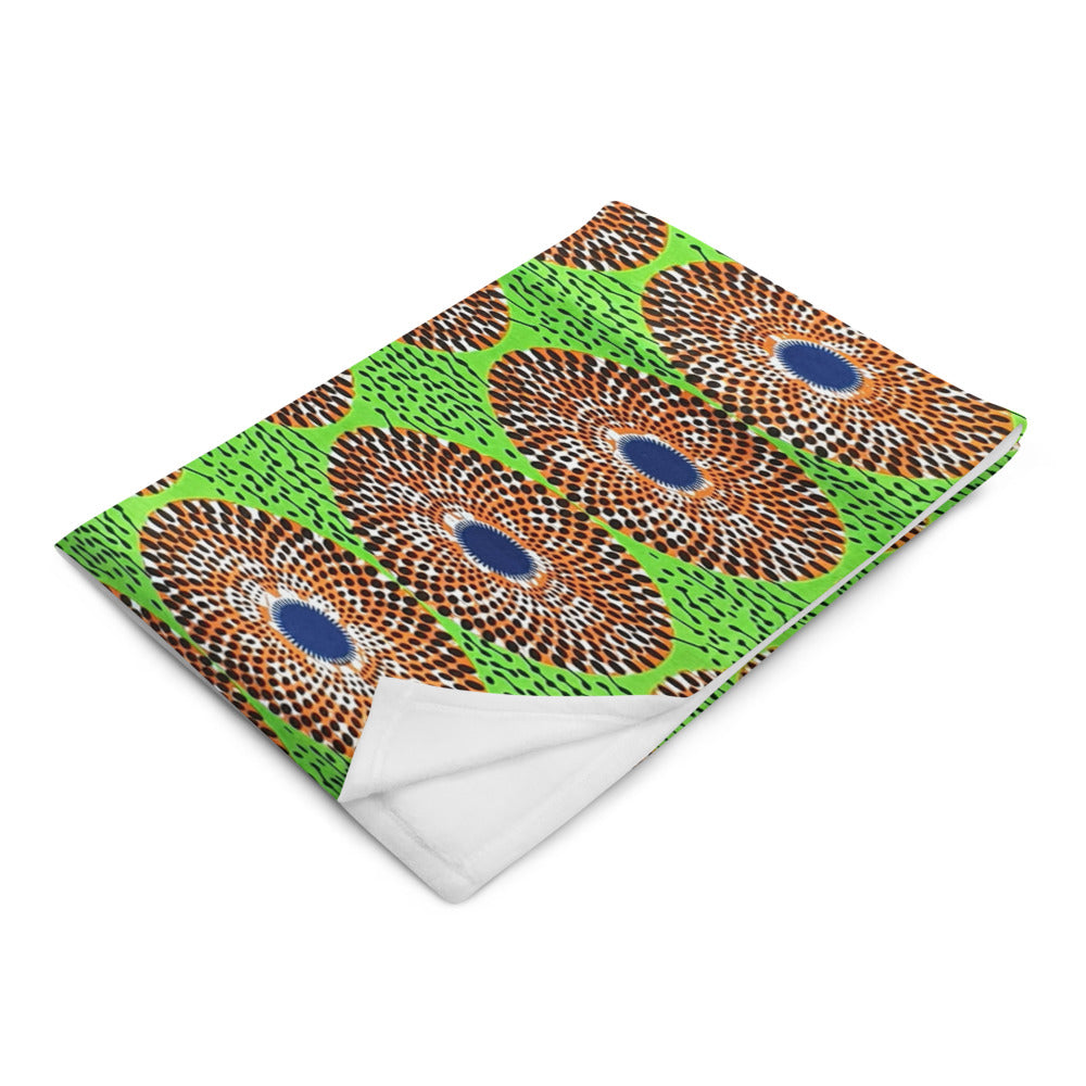 Ankara Prints Patterned Throw Blanket ( Home Accessories)
