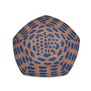 Ankara Prints Patterned Bean Bag Chair Cover (Home Accessories)