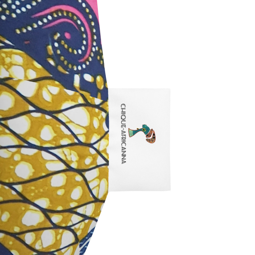 African Ankara Prints Inspired Bean Bag Chair Cover