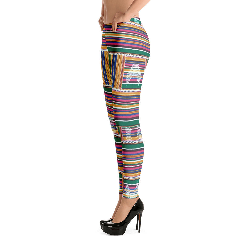 Stylish Kente Leggings