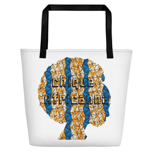 Gorgeous African Ankara Printed Design Women Beach Bag