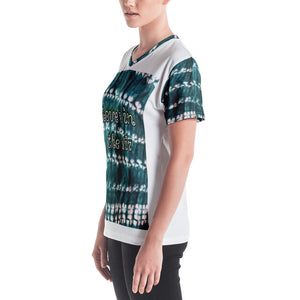Stylish African Dashiki Women's V-neck t-shirt