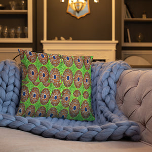 African Ankara Prints Patterned Basic Pillow