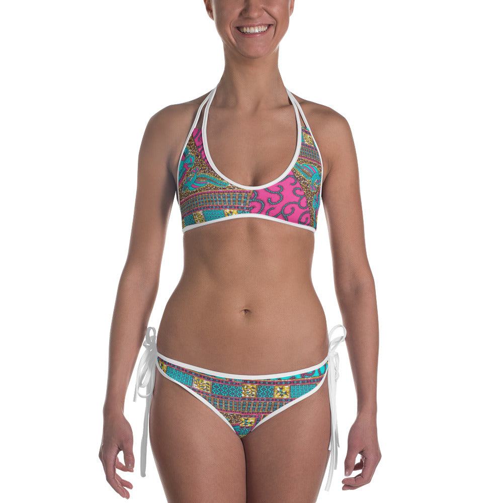 Ankara Prints  Patterned Bikini