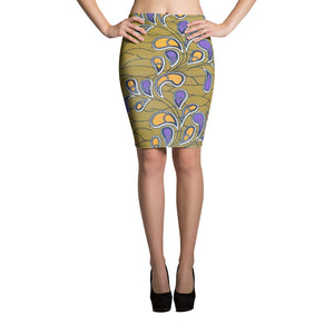 Unique Stylish African Ankara Prints Pencil Skirt