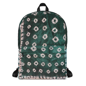 African Prints Tie and Dye Backpack Bag