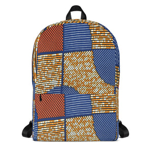 Vibrant Ankara/African Prints Patterned Backpack