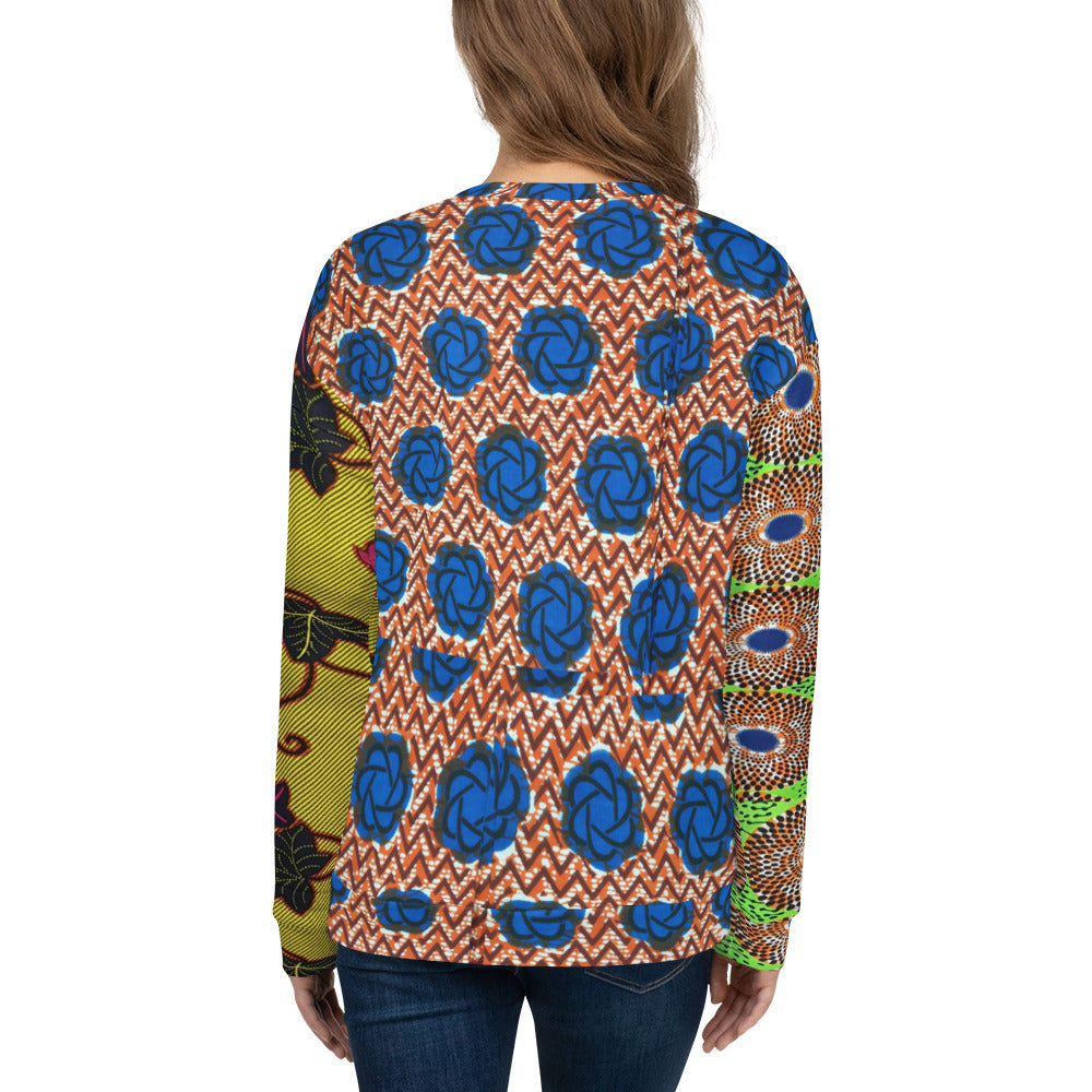 3 Multi Ankara Patterned Unisex Jumpers