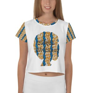 African Ankara Prints Patterned Crop Top