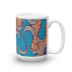 African Ankara Prints Patterned Mug