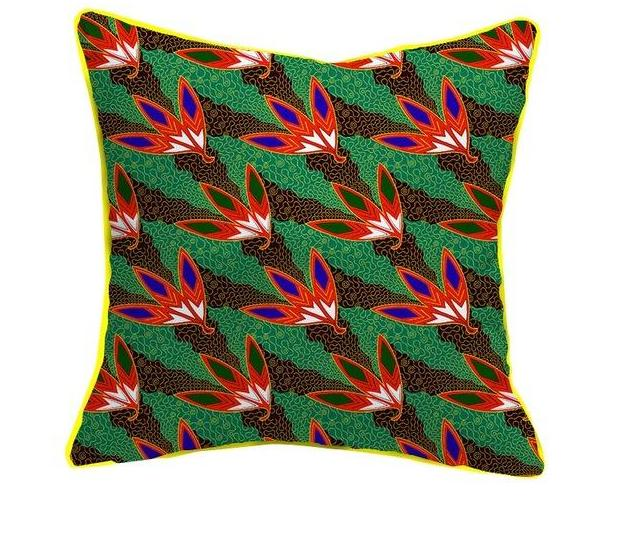 African printed home accessories