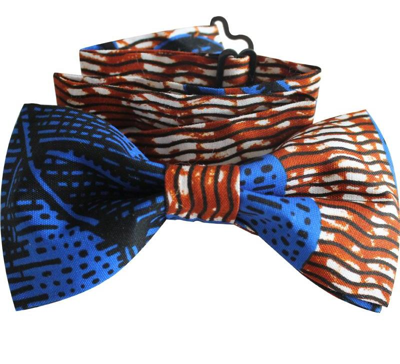 African print fashion accessories