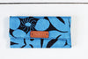 Blue handmade women wallet. Fair trade. Ethical gifts. Made in Mexico by artisans