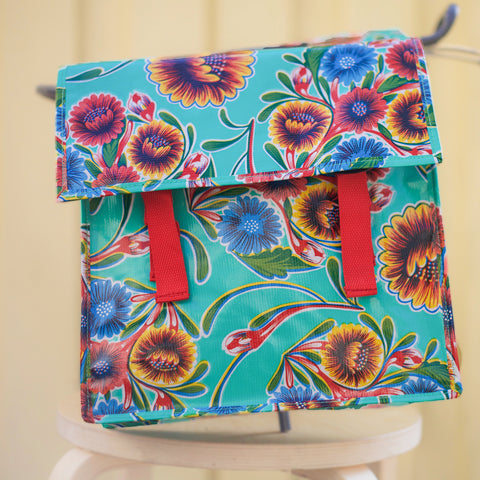 Fun Classic Saddlebag Turquoise