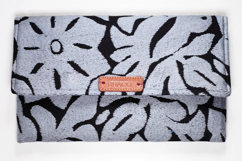 Grey Xalli Clutch Bag