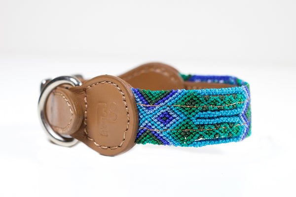 Colourful dog collar - Xsmall bb3