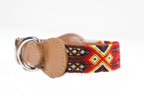 Colourful dog collar - Xsmall bb9