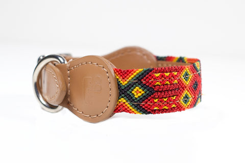 Colourful dog collar - Xsmall rrb8