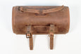 Round saddlebag aged
