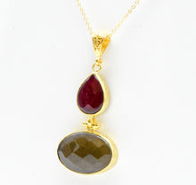 Aylas ottoman gold plated gem stone necklace Smoky Quartz, Agate - Ottoman Handmade Jewellery Hand Made Gold Plated