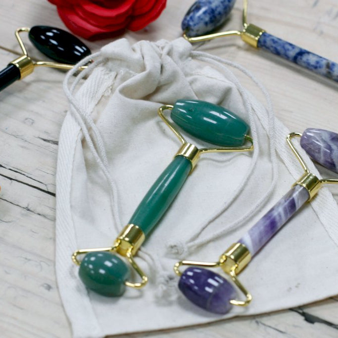 NEW Gemstone Facial Rollers