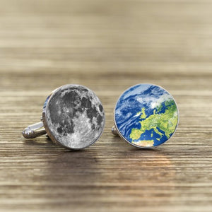 *New* Daddy, Love You To The Moon And Back Again Cufflinks