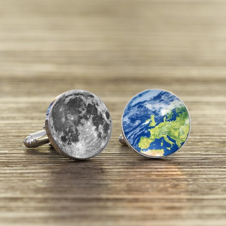 Daddy, Love You To The Moon And Back Again Cufflinks