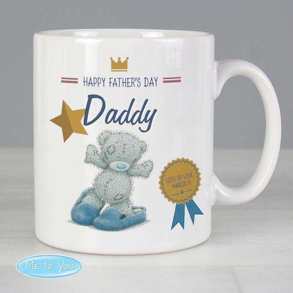 Personalised Me to You Slippers Mug from Pukkagifts.uk