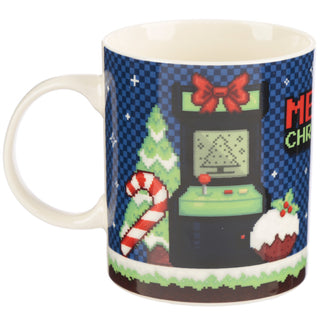 Retro Gaming Merry Christmas Mug