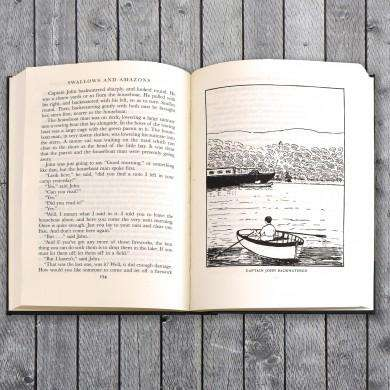Personalised Swallows and Amazons Book from Pukkagifts.uk