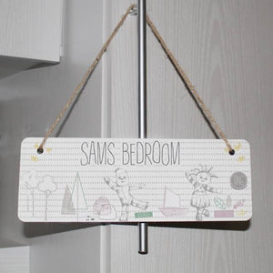 Personalised In The Night Garden Magic Garden Door Sign