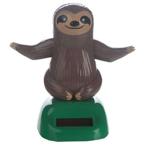 Sloth Solar Powered Dashboard Toy,Pukka Gifts